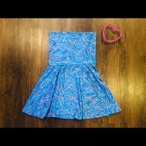 American Apparel 80's Strapless Dress/Skirt 🎀